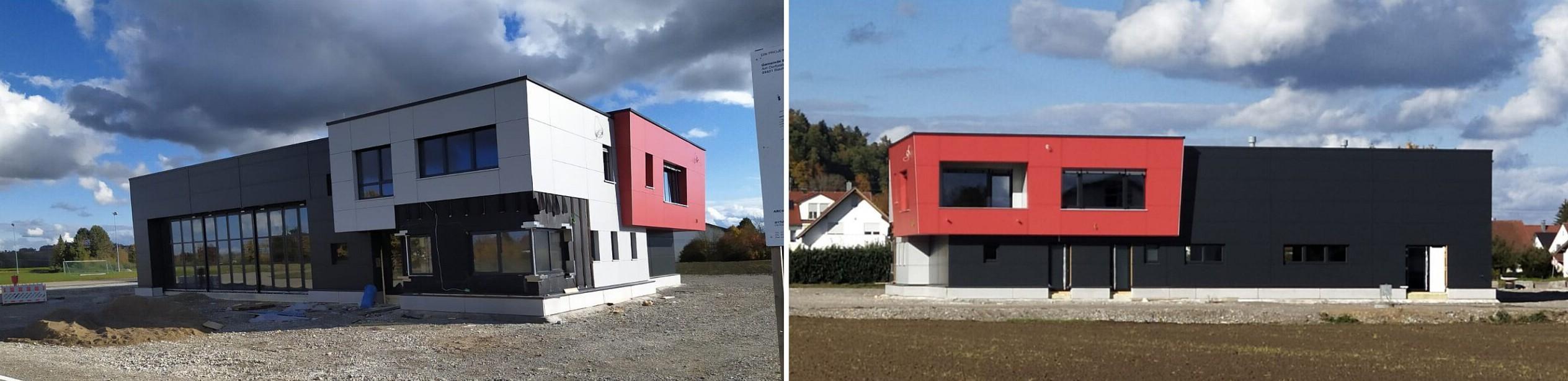 Einweihung Feuerwehrhaus Balzheim